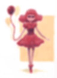 natalia nat evans art illustration drawing painting gouache princess bubblegum adventue time