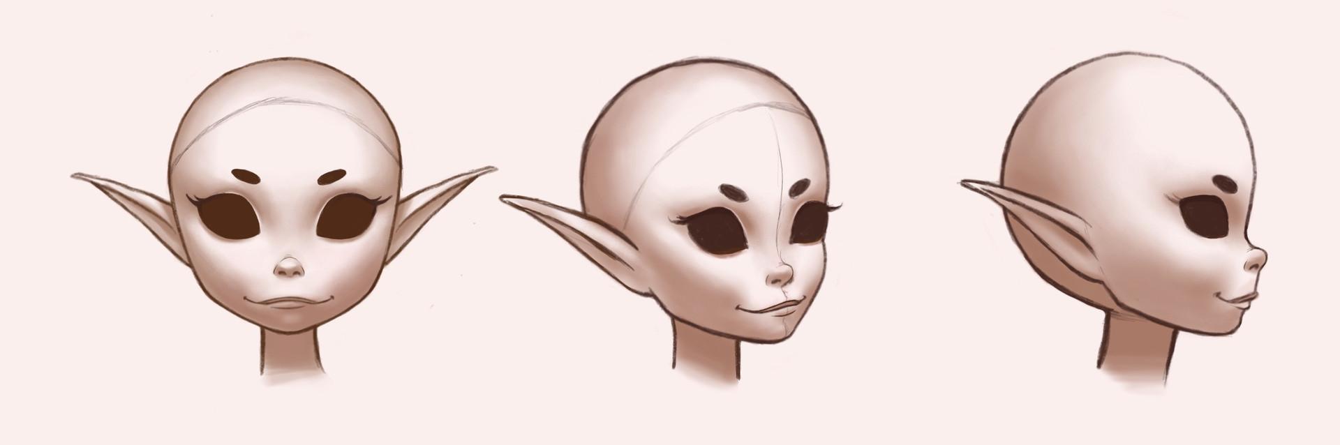 Doll head design