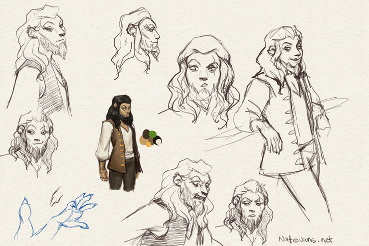 Scar as a Treasure Planet character