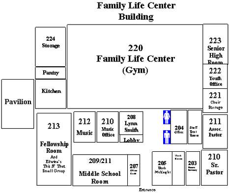 Blaur Road UMC Family Life Center Building