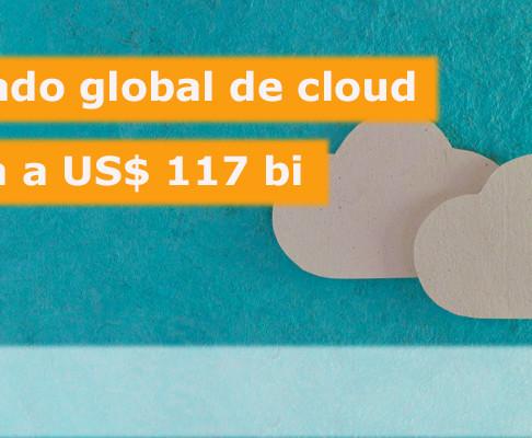 Mercado de Cloud Services atinge a marca de bilhões de dólares.