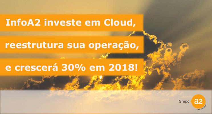 A divisão InfoA2 Cloud Solutions conquistou grandes projetos no mundo Oracle Cloud em 2017 e 2018.