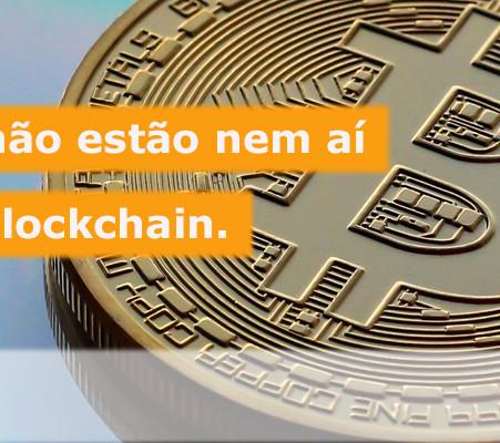 Gartner demonstra que os CIOs não estão tão interessados no blockchain.