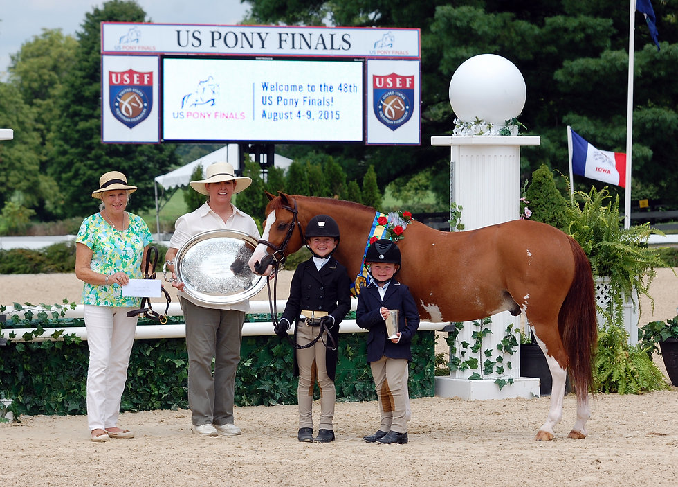Rollingwoods Knee Deep 2015 Pony Finals