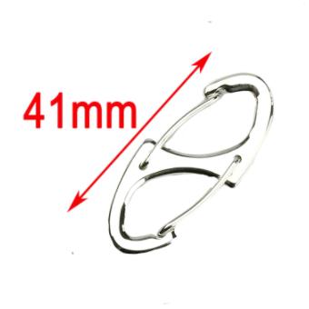 Mini S-Clip Silver Color