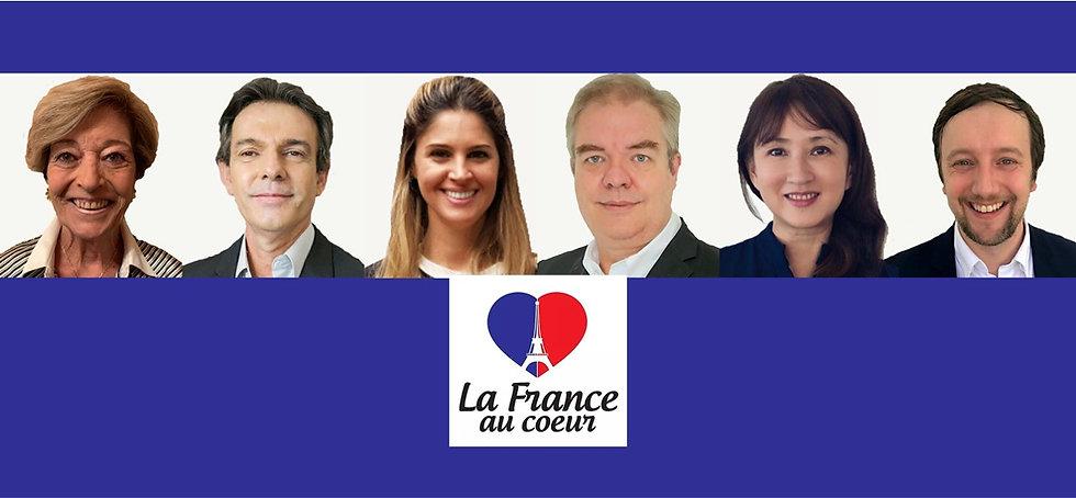 Proposition de banière - France au coeur