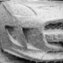 Jaguar F-Type snow foam pre-wash