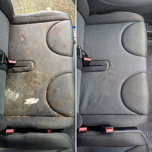 before and after car seat and carpets shampoo and extraction and car seat steam cleaning