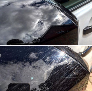 scratch removal from wing mirrors