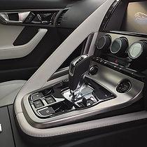 Freshly detailed interior of Jaguar F-Type R