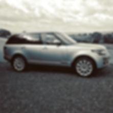 Range Rover Vogue after maintenance detail