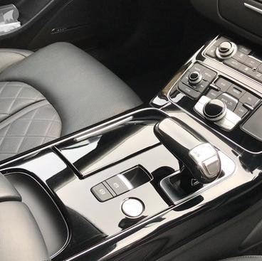 Audi A6 S-line interior