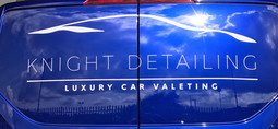 Knight Detailing Van logo