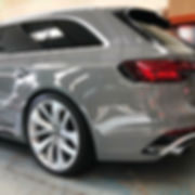 Audi RS4 Nardo Grey