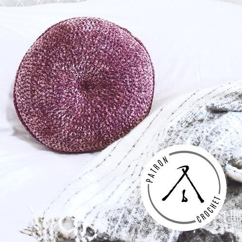 Coussin en velours VELVETKHUSHONI - Patron Crochet FRANÇAIS