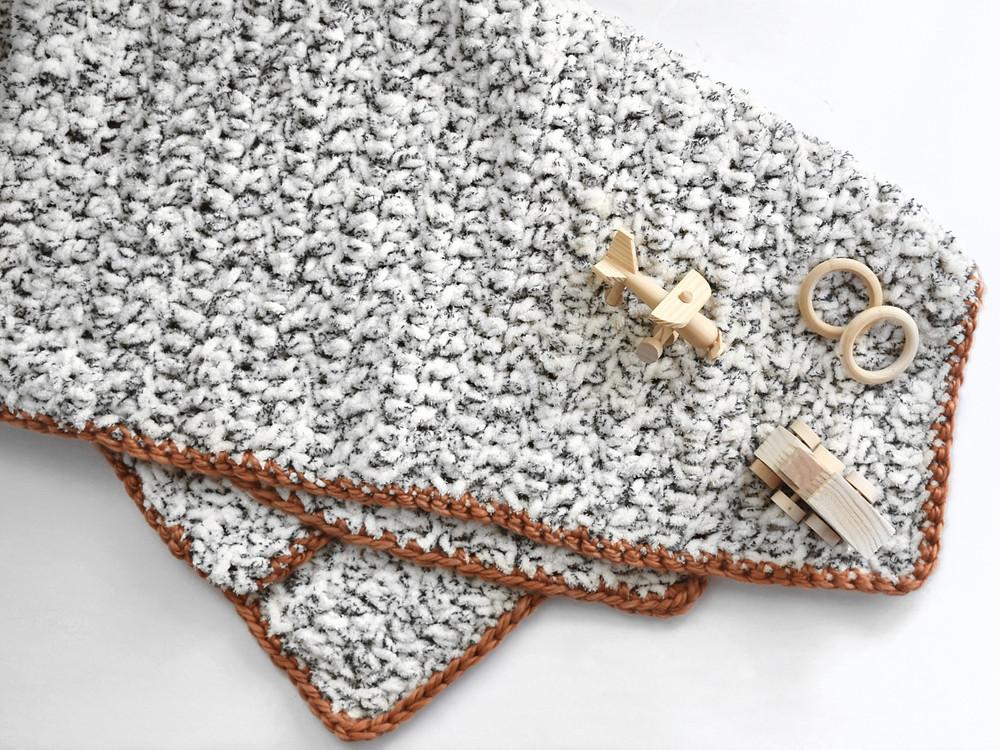 faire une bordure de couverture au crochet