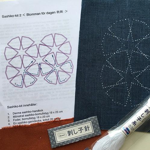 Sashiko-kit 2, Blomman för dagen