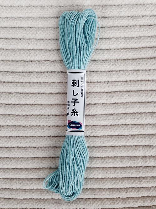Sashiko-garn; Isblå 20 meter