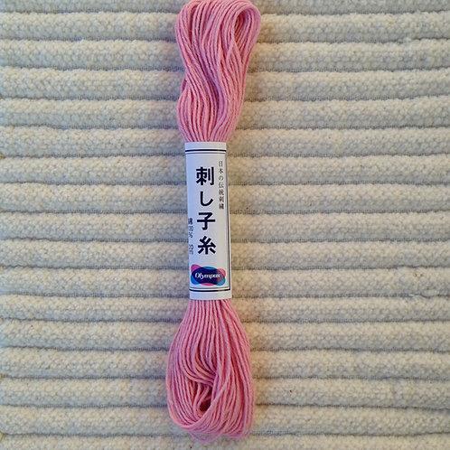 Sashiko-garn; Rosa 20 meter