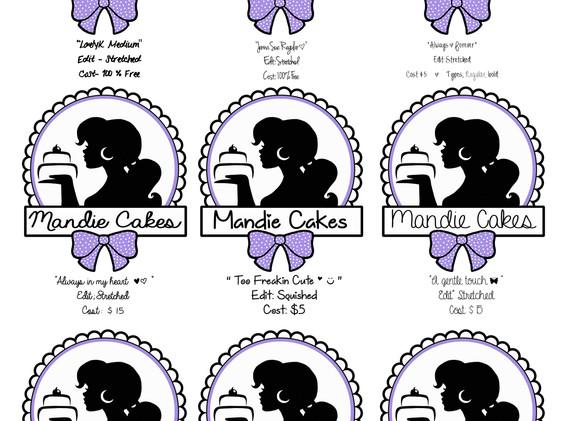 Mandie Cakes WIP