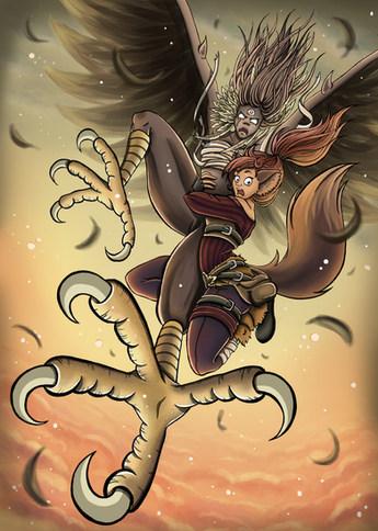 Skylar and the Harpie