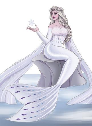 Elsa Mermaid