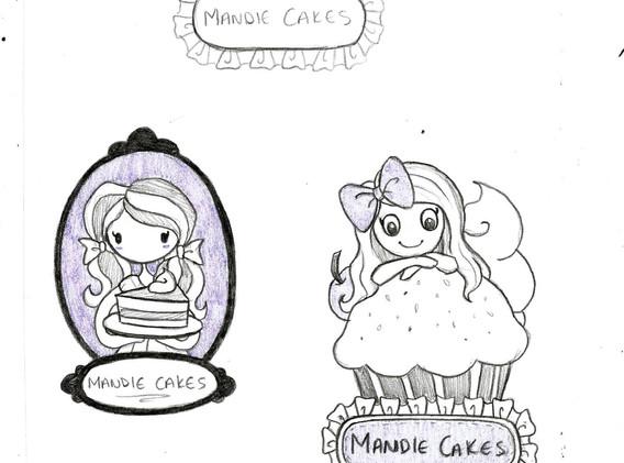 Mandie CakesSketches
