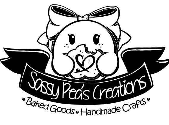 Sassy Pea's Logo 2