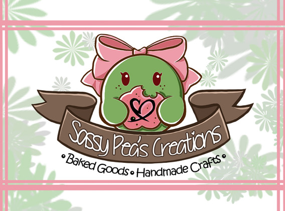 Sassy Pea's Business Card