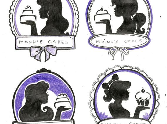 Mandie Cakes Sketches