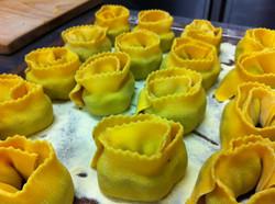 Preparazione delle lasagnette