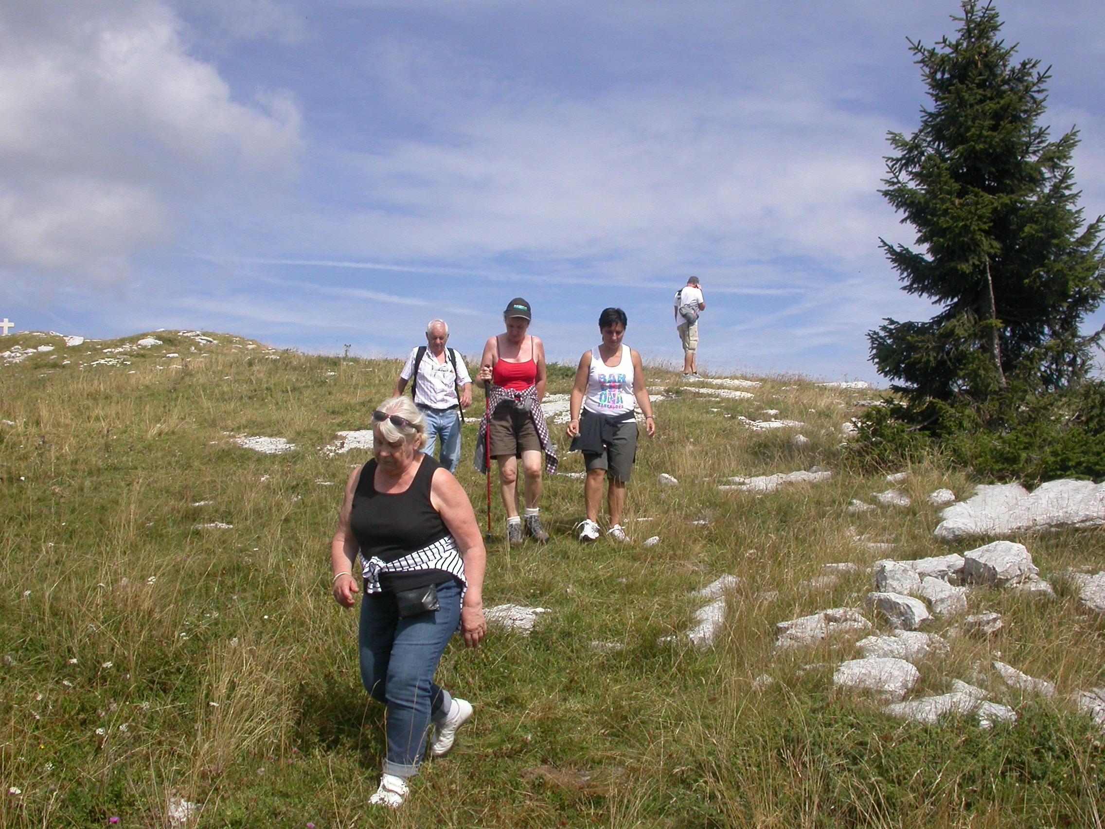 Escursioni al Monte Castelgomberto d