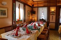 sala  per il pranzo di Natale