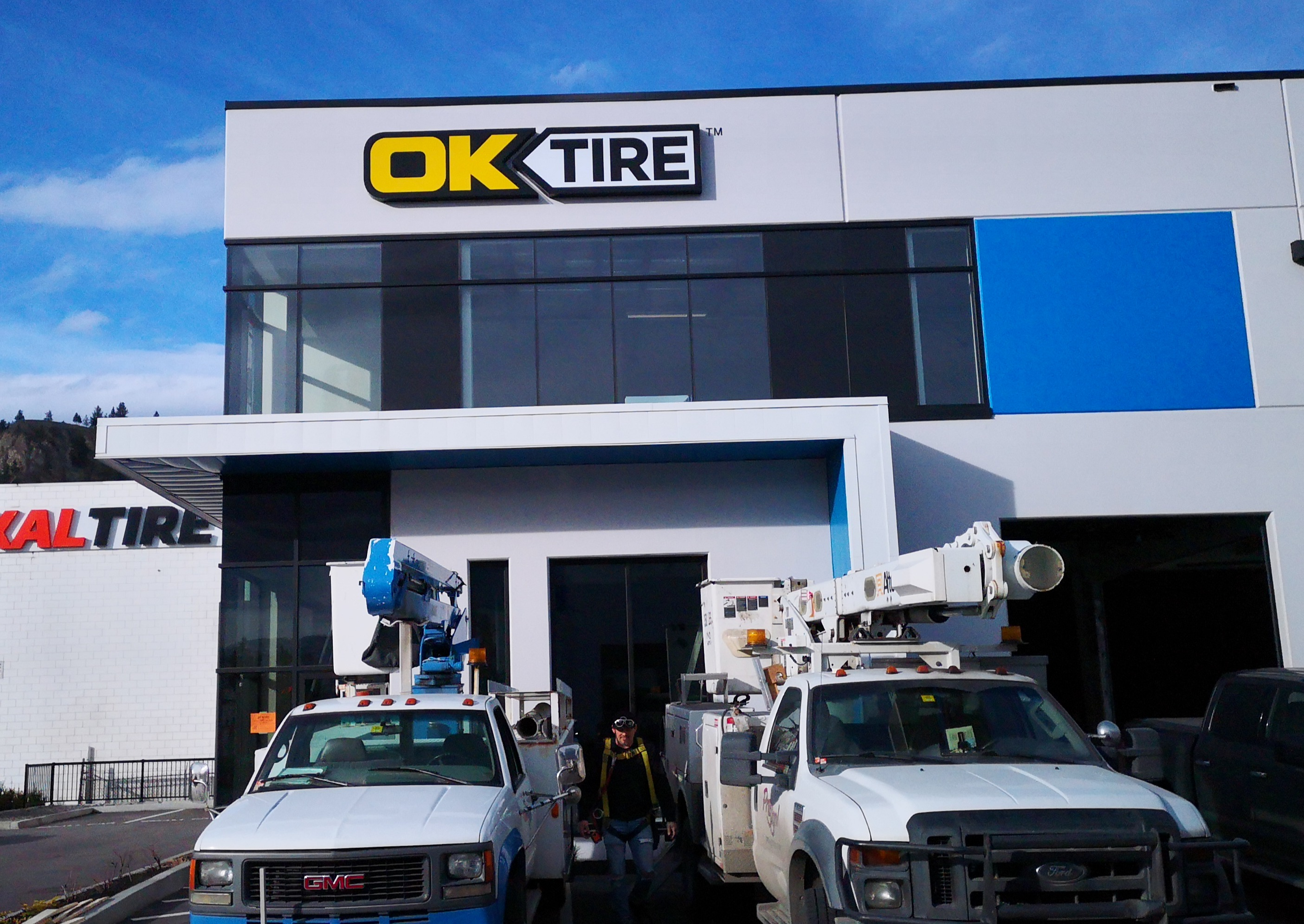 OK Tire new location on Dilworth
