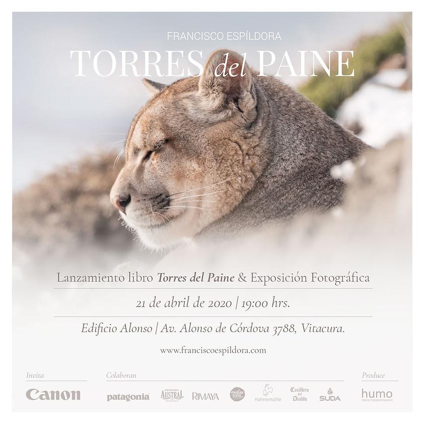 Lanzamiento libro Torres del Paine / Exposición Fotográfica