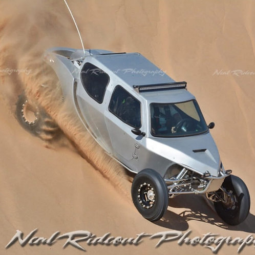 One of a kind Sand Car w/ BFD custom built enclosed body and Air Conditioning