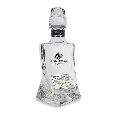 Tequila Adictivo Extra Añejo Cristalino de 750ml