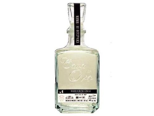 Tequila Cava de Oro Extra Añejo Cristalino de 750ml