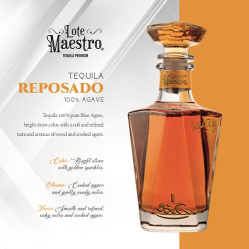 Tequila Lote Maestro Reposado de 750 ml
