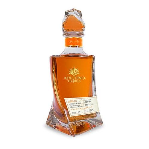 Tequila Adictivo Añejo de 750ml