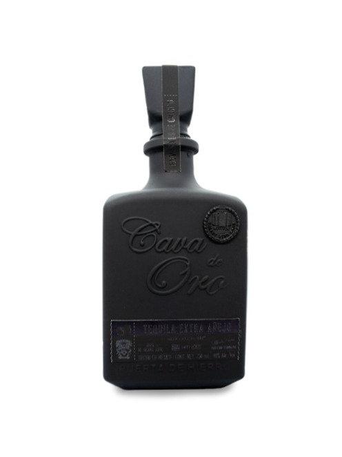 Tequila Cava de Oro Black Edition 750ml