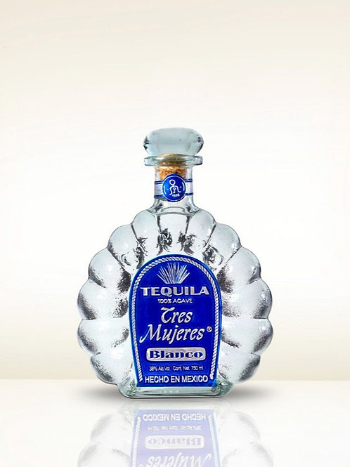 Tequila Tres Mujeres Blanco 750ml