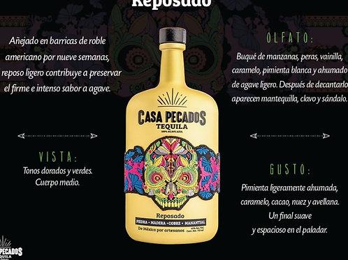 Tequila Casa Pecados Reposado 750ml