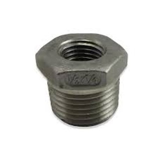 "Stainless Steel Reducer 1/2"" NPT/BSP to 12mm"