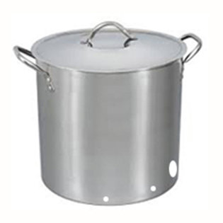 Stainless Steel Brew Kettle 60L capacity- pre-cut holes