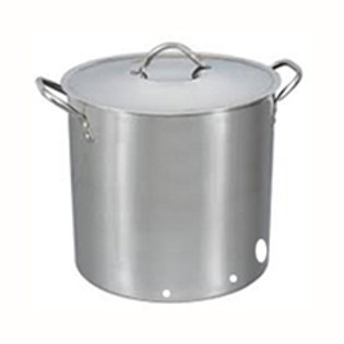 Stainless Steel Brew Kettle 40L capacity- pre-cut holes