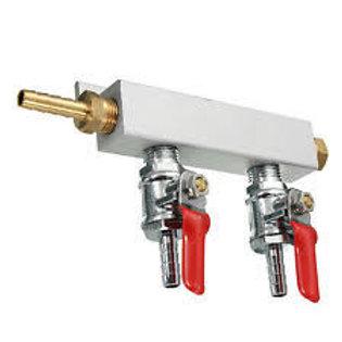 2 Way Gas Splitter