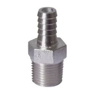 "Barb 8mm with 1/2"" NPT/BSP thread-Male"
