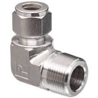 """Compression fitting 1/2"""" NPT/BSP to 12mm"""