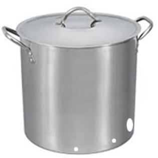 Stainless Steel Brew Kettle 90L capacity- pre-cut holes